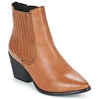 Čevlji  Ženske Gležnjarji Musse & Cloud BECKY Cognac