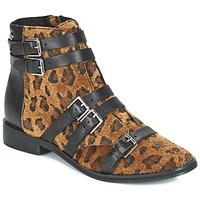 Čevlji  Ženske Gležnjarji Le Temps des Cerises IZY Béžová