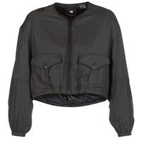 Oblačila Ženske Jakne G-Star Raw RACKAM OS CROPPED BOMBER Črna