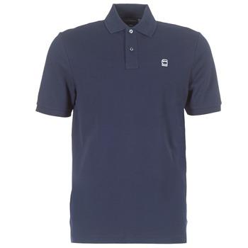 Oblačila Moški Polo majice kratki rokavi G-Star Raw DUNDA POLO Modra