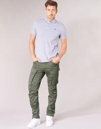 Oblačila Moški Hlače cargo G-Star Raw ROVIC ZIP 3D STRAIGHT TAPERED Siva / Zelena