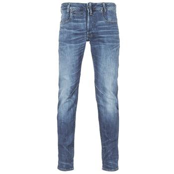 Oblačila Moški Kavbojke slim G-Star Raw D-STAQ 5-PKT SLIM Modra / Indigo modra / Vintage