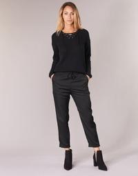 Oblačila Ženske Lahkotne hlače & Harem hlače G-Star Raw BRONSON JOG Črna
