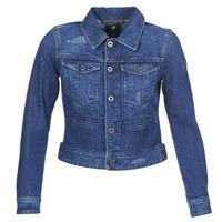 Oblačila Ženske Jeans jakne G-Star Raw D-STAQ DC DNM Modra / Sato / Denim