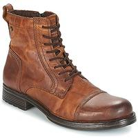 Čevlji  Moški Polškornji Jack & Jones JFW RUSSEL Cognac