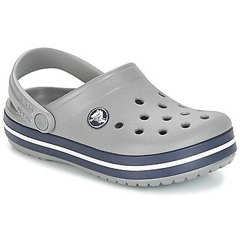 Čevlji  Otroci Cokli Crocs CROCBAND CLOG K Siva