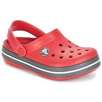 Čevlji  Otroci Cokli Crocs CROCBAND CLOG KIDS Rdeča