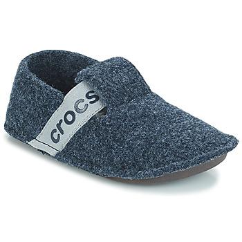Čevlji  Otroci Nogavice Crocs CLASSIC SLIPPER K Modra
