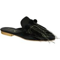 Čevlji  Ženske Cokli Gia Couture VENUS SATIN B nero