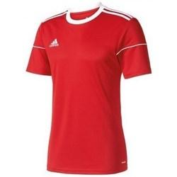 Oblačila Moški Majice s kratkimi rokavi adidas Originals Squadra 17 Rdeča