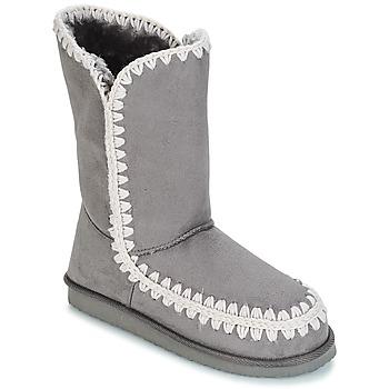 Čevlji  Ženske Mestni škornji    LPB Shoes NATHALIE Siva