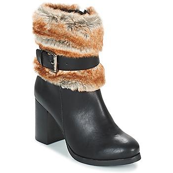 Čevlji  Ženske Gležnjarji LPB Shoes JESSY Črna