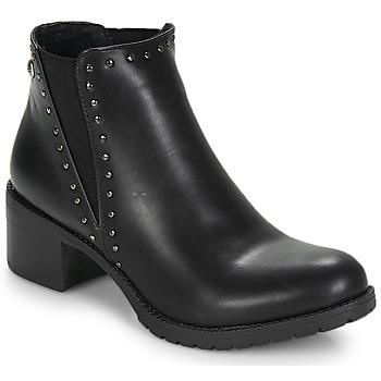Čevlji  Ženske Gležnjarji LPB Shoes LAURA Črna