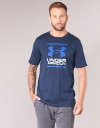Oblačila Moški Majice s kratkimi rokavi Under Armour UA GL FOUNDATION SS T Modra