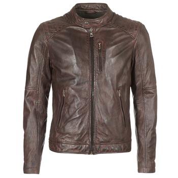 Oblačila Moški Usnjene jakne & Sintetične jakne Oakwood AGENCY Kostanjeva