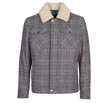Oblačila Moški Plašči Benetton MADRILA Siva