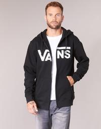 Oblačila Moški Puloverji Vans VANS CLASSIC ZIP HOODIE Črna