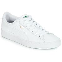 Čevlji  Nizke superge Puma BASKET CLASSIC LFS.WHT Bela