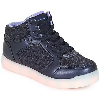 Čevlji  Deklice Visoke superge Skechers ENERGY LIGHTS Modra