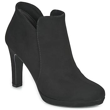 Čevlji  Ženske Gležnjarji Tamaris LYCORIS Črna