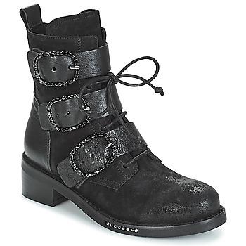 Čevlji  Ženske Polškornji Mimmu MOEZ Črna