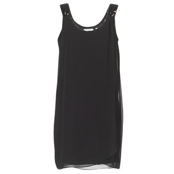 Oblačila Ženske Kratke obleke Naf Naf KLOE Črna