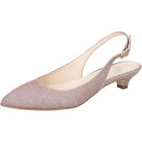 Čevlji  Ženske Sandali & Odprti čevlji Olga Rubini sandali rosa tessuto BY275 Rosa