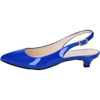 Čevlji  Ženske Sandali & Odprti čevlji Olga Rubini sandali blu vernice BY278 Blu