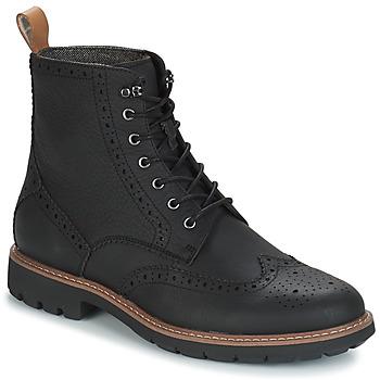 Čevlji  Moški Polškornji Clarks BATCOMBE LORD Črna
