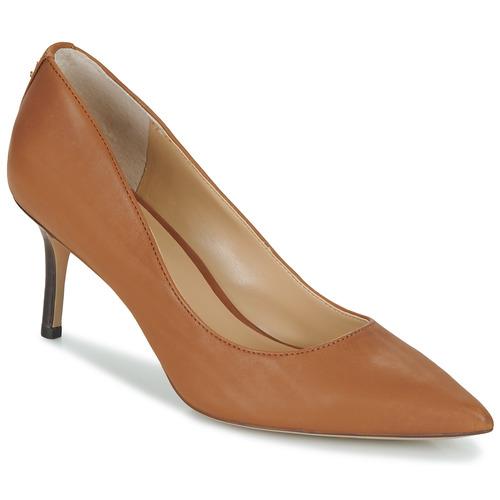 Čevlji  Ženske Salonarji Lauren Ralph Lauren LANETTE Kamel