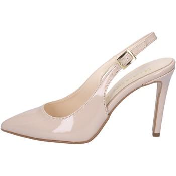 Čevlji  Ženske Sandali & Odprti čevlji Olga Rubini sandali beige vernice BY286 Beige