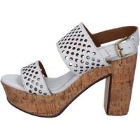 Čevlji  Ženske Sandali & Odprti čevlji Shocks Sandale BY394 Bela