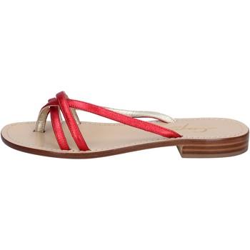 Čevlji  Ženske Sandali & Odprti čevlji Capri Soleae BY501 Rdeča