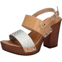 Čevlji  Ženske Sandali & Odprti čevlji Made In Italia BY516 Srebro