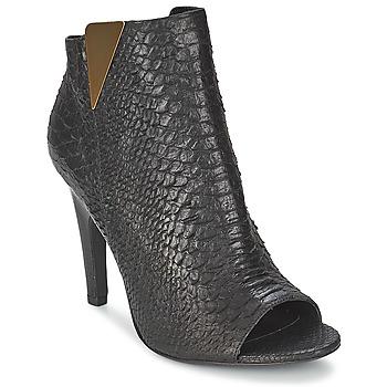 Čevlji  Ženske Gležnjarji Vic CARVI Črna