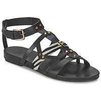 Čevlji  Ženske Sandali & Odprti čevlji Vic GINKO ACHANTUS Črna
