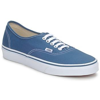 Čevlji  Nizke superge Vans AUTHENTIC Modra