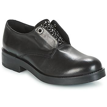 Čevlji  Ženske Čevlji Derby Tosca Blu FRASER Črna