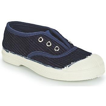 Čevlji  Otroci Nizke superge Bensimon TENNIS ELLY CORDUROY Modra