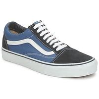 Čevlji  Nizke superge Vans OLD SKOOL Modra