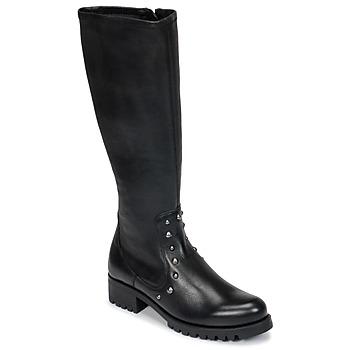 Čevlji  Ženske Mestni škornji    Unisa IKERI Črna