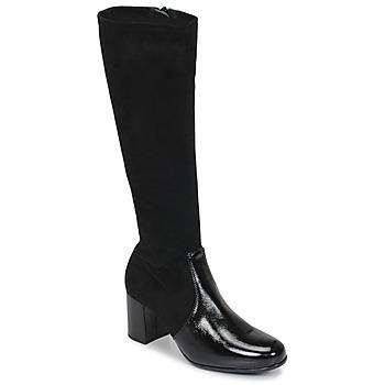 Čevlji  Ženske Mestni škornji    Unisa ORLANDO Črna