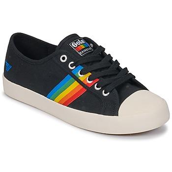 Čevlji  Ženske Nizke superge Gola Coaster rainbow Bela