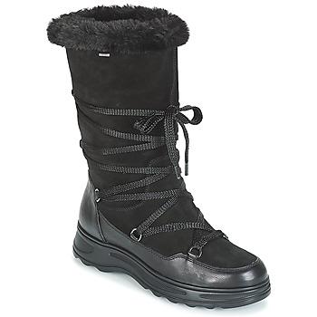 Čevlji  Ženske Škornji za sneg Geox D HOSMOS B ABX Črna