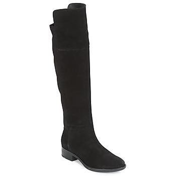 Čevlji  Ženske Visoki škornji Geox D FELICITY Črna