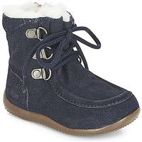 Čevlji  Otroci Mestni škornji    Kickers BAMARA Modra