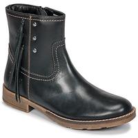 Čevlji  Deklice Mestni škornji    Kickers MOLLY Črna