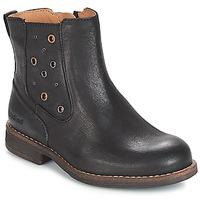Čevlji  Deklice Mestni škornji    Kickers SMAD Črna