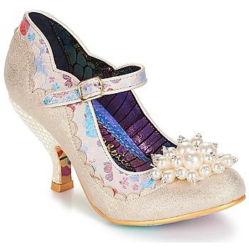 Čevlji  Ženske Salonarji Irregular Choice Shoesbury Krem