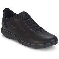 Čevlji  Moški Nizke superge Geox NEBULA B Črna